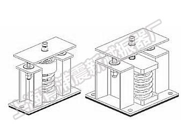 阻尼弹簧减震器安装大样图