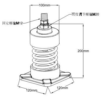 冷却塔减振器